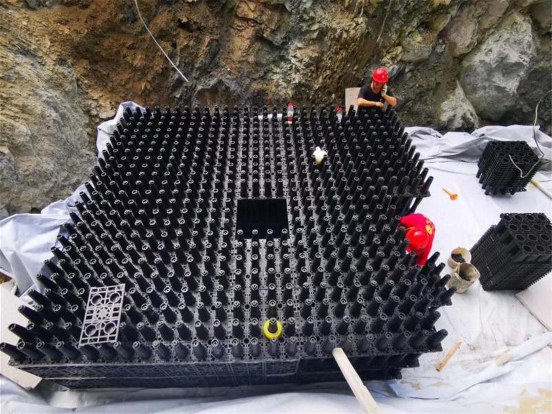 中建二局-攀枝花万达雨水收集系统